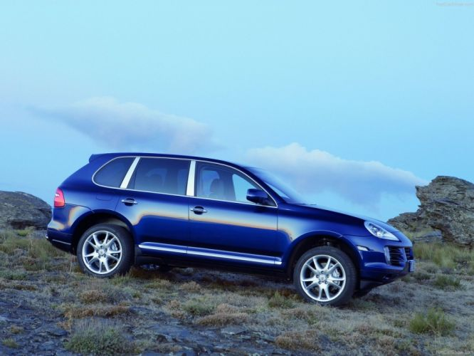 Porsche Cayenne S suv cars 2008 wallpaper
