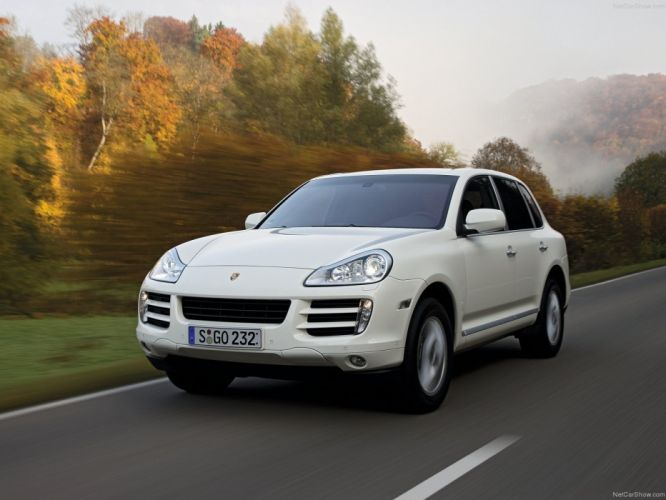 Porsche Cayenne diesel suv cars 2008 wallpaper