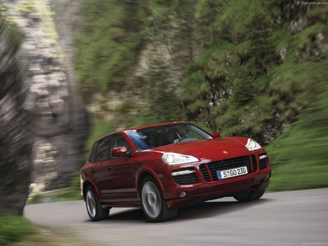 Porsche Cayenne GTS suv cars 2008 wallpaper