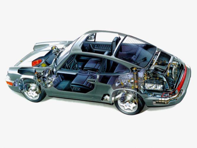 porsche 911 carrera 2 cars thecnical wallpaper