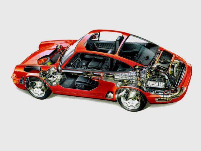 porsche 911 carrera 4 cars technical wallpaper