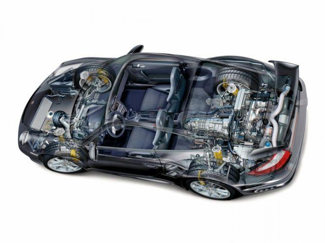 Porsche 911 GT2 997 cars technical wallpaper
