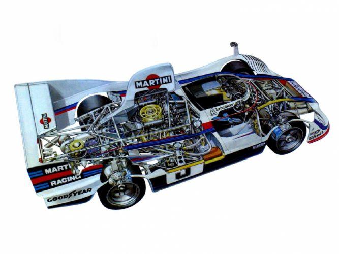 77 Spyder cars racecars technical wallpaper