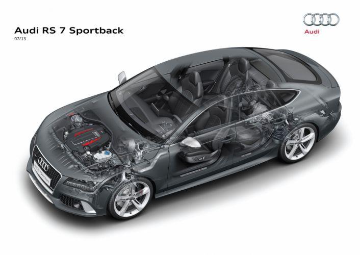 Audi RS7 Sportback cars technical wallpaper
