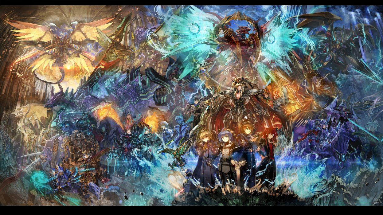 animal armor bird cardfight!! vanguard gun mecha sendou aichi spear sword ultimate asuka weapon wallpaper