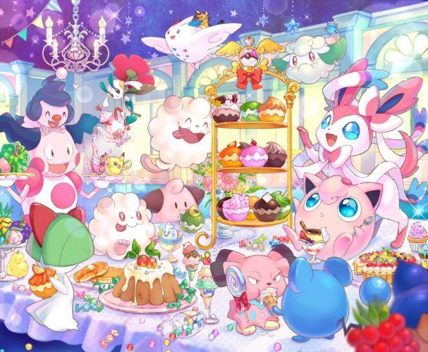 Nintendo GAME FREAK Pokemon Dedenne Snubbull wallpaper