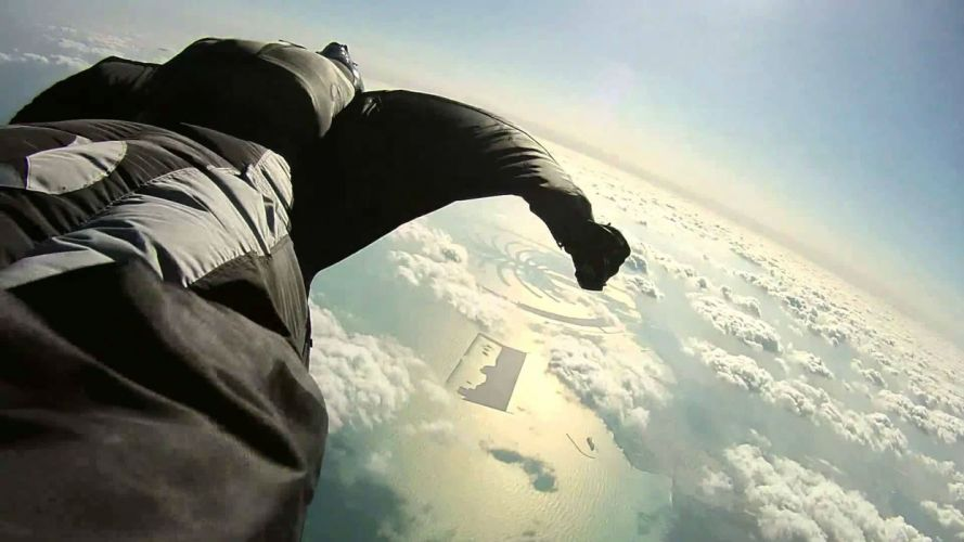 wingsuit parachute flying fly flight extreme birdman diving skydive skydiving people 1wingsuit suit people wallpaper