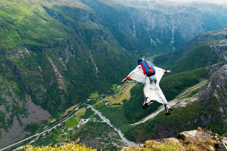 wingsuit parachute flying fly flight extreme birdman diving skydive skydiving people 1wingsuit suit people wallpaper