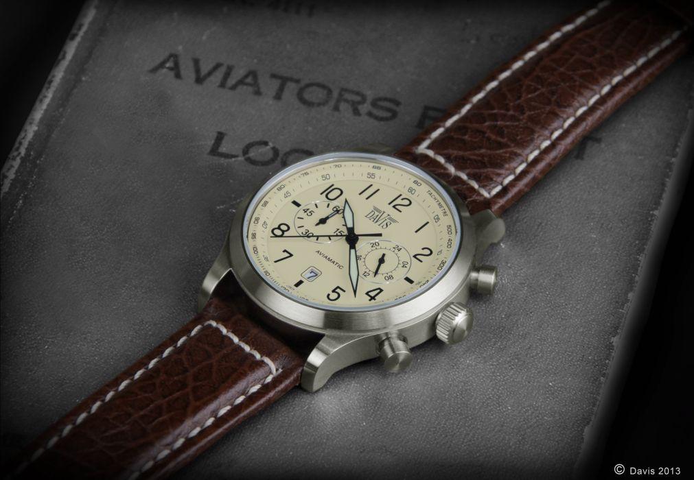 Vintage Aviation Watch Wallpaper