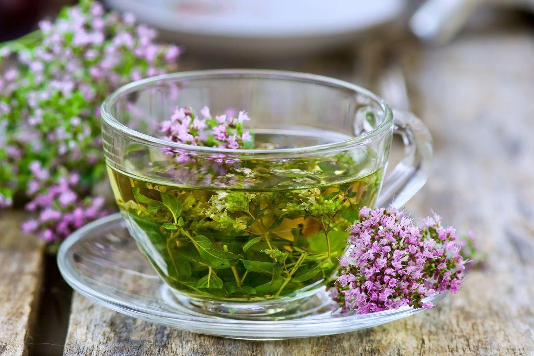 cup drinks flowers glass tea healthy wallpaper