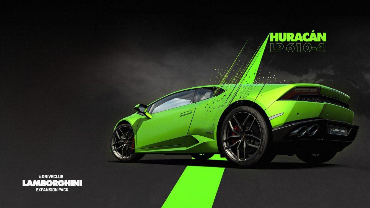 Lamborghini Huracan - Driveclub wallpaper