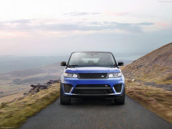 Land Rover Range Rover Sport SVR suv cars 2015 wallpaper