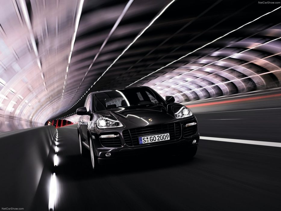 Porsche Cayenne Turbo S suv cars 2009 wallpaper