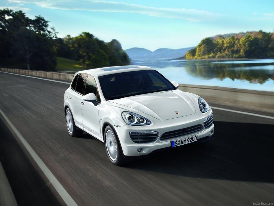 Porsche Cayenne s hybrid suv cars 2011 wallpaper