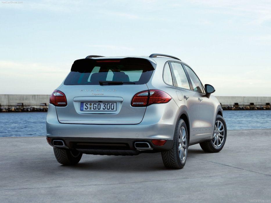 Porsche Cayenne diesel suv cars 2011 wallpaper
