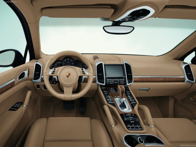 Porsche Cayenne interior suv cars 2011 wallpaper