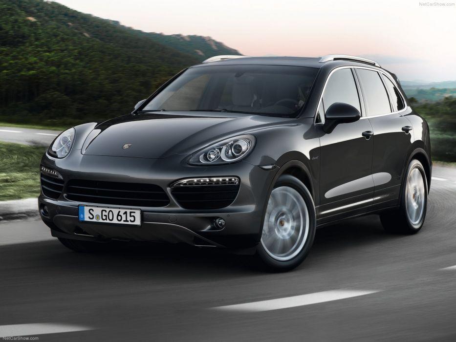 Porsche Cayenne s diesel suv cars 2013 wallpaper