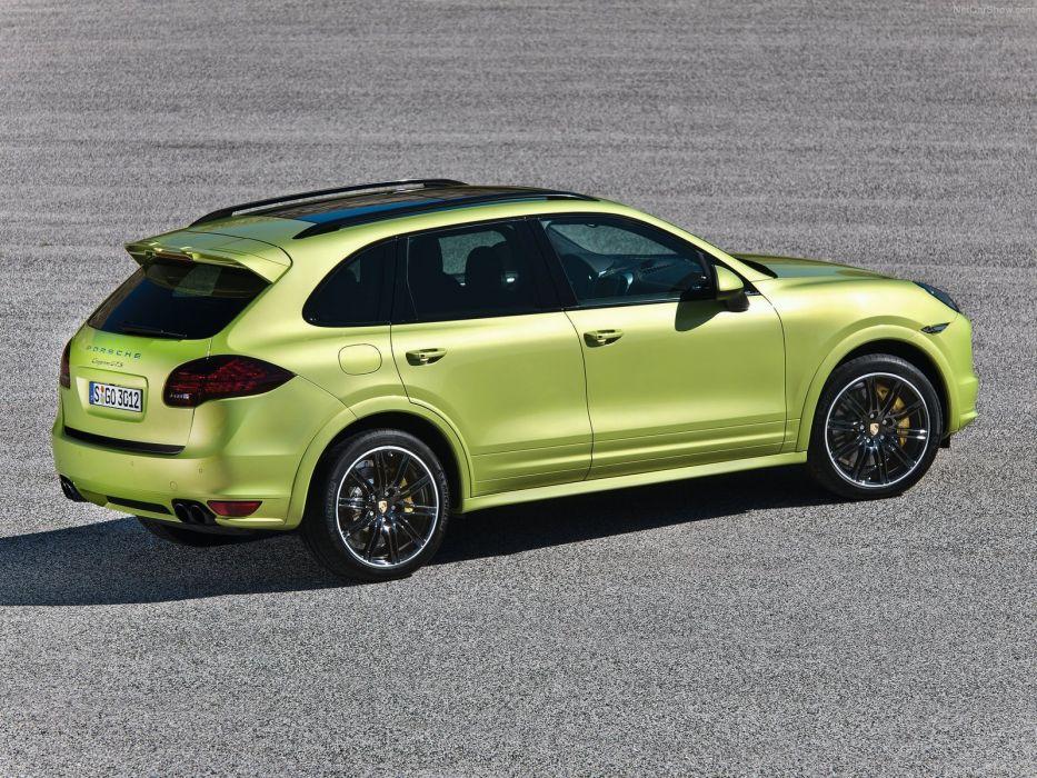 Porsche Cayenne gts suv cars 2013 wallpaper