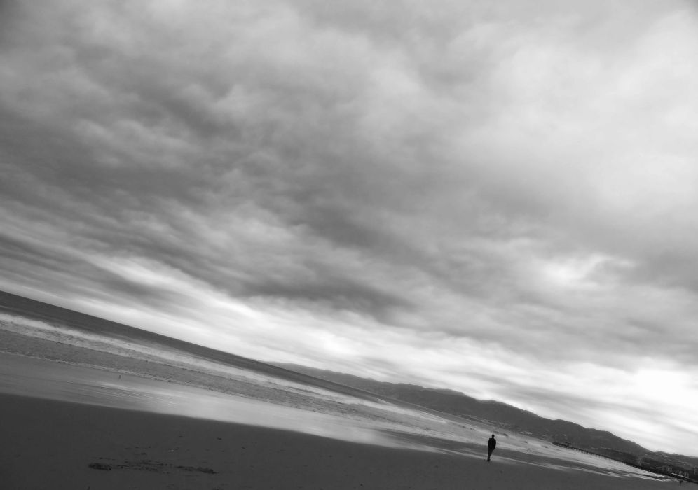 lonely mood sad alone sadness emotion people loneliness Solitude beach wallpaper