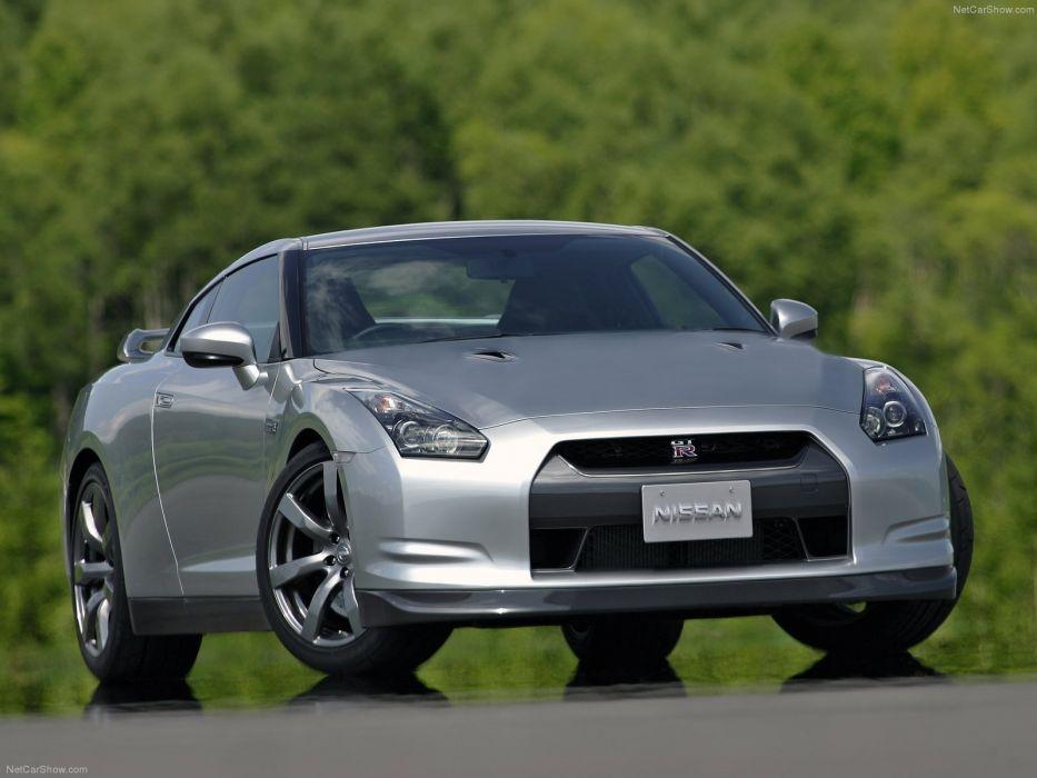 2008 gt-r GTR Nissan Supercar cars wallpaper