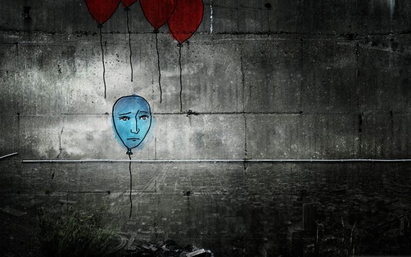 lonely mood sad alone sadness emotion people loneliness Solitude graffiti wallpaper