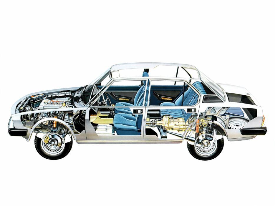 technical cars Alfa Romeo Alfetta 2000L wallpaper