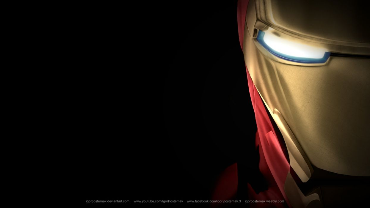 Iron Man Steel Cool Iron Avengers Marvel Wallpaper