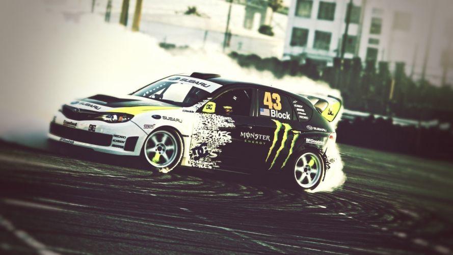 Auto de la marca Monster Energy wallpaper