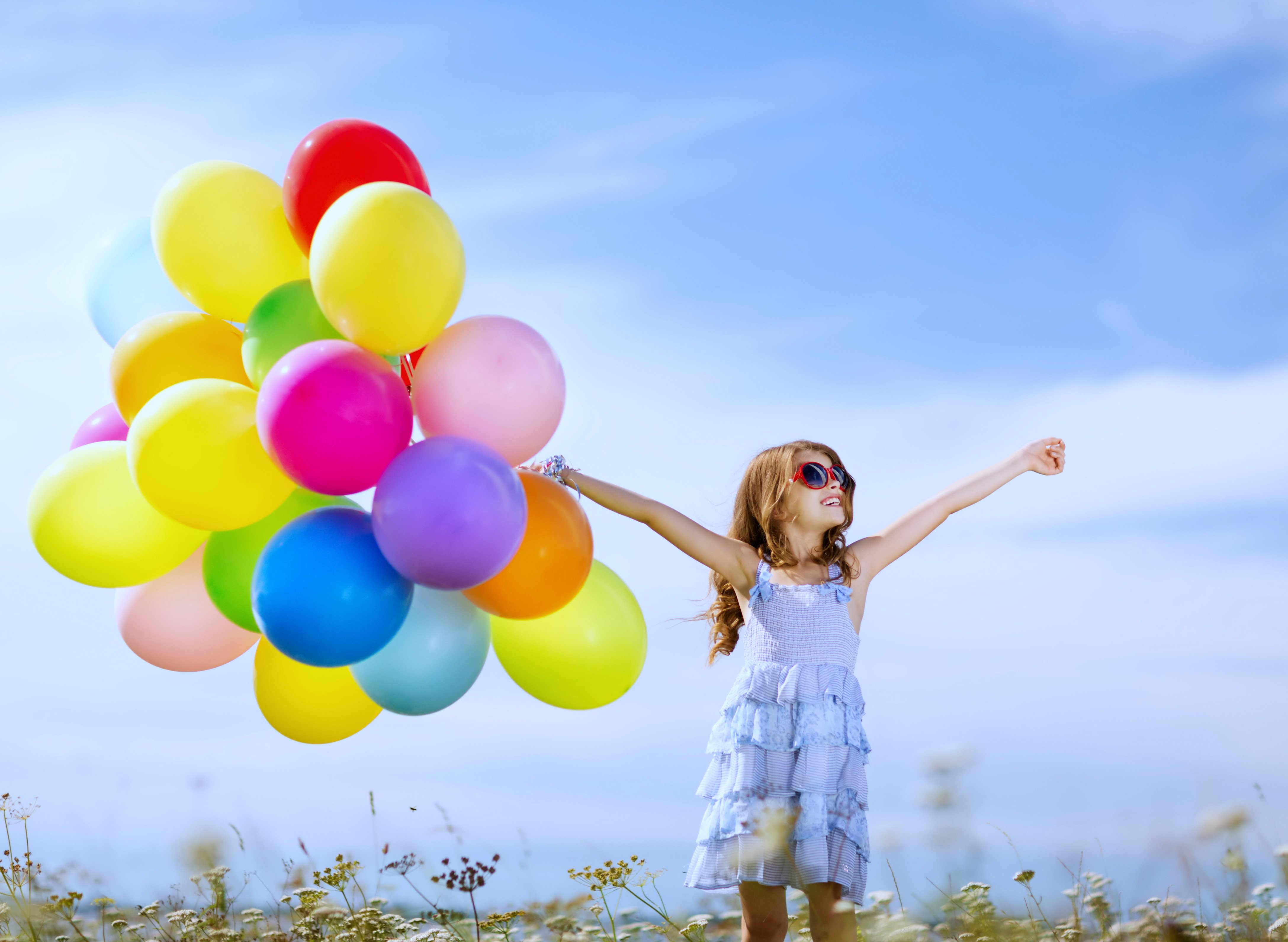 kids children childhood games playing joy fun happy life nature landscapes earth little colors sky sunny - Spring Pictures For Children