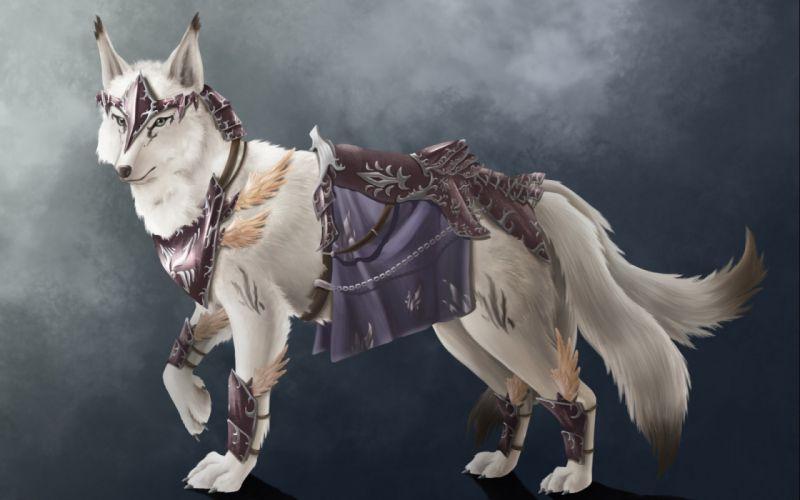 wolf wolves predator carnivore fantasy artwork warrior f wallpaper