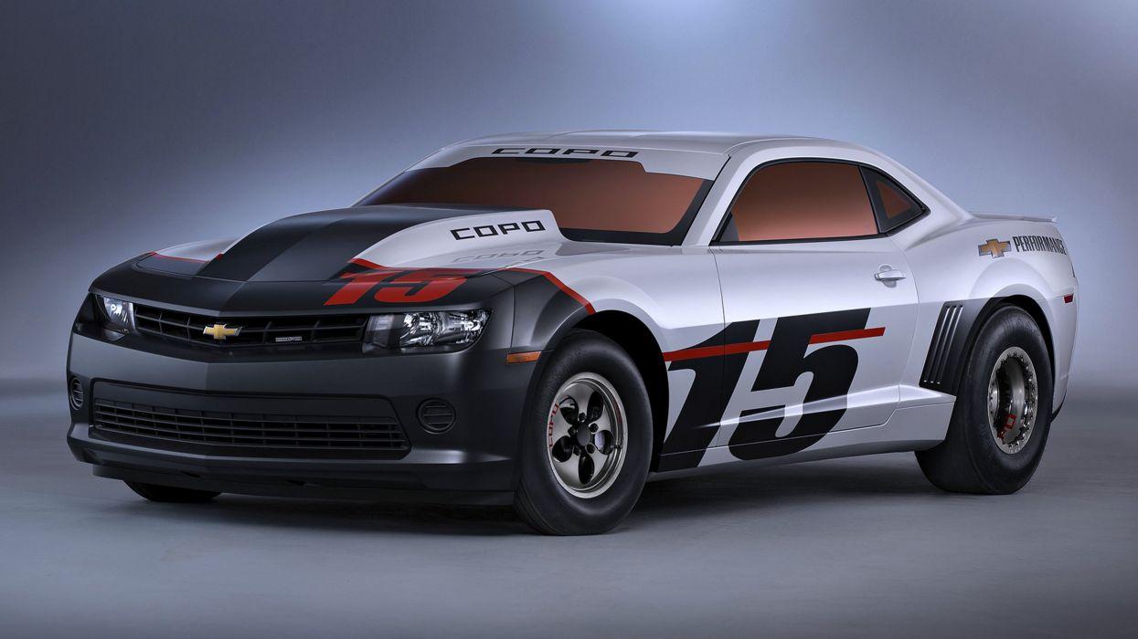 Supercars cars motors speed sports 2015 Chevrolet COPO Camaro wallpaper
