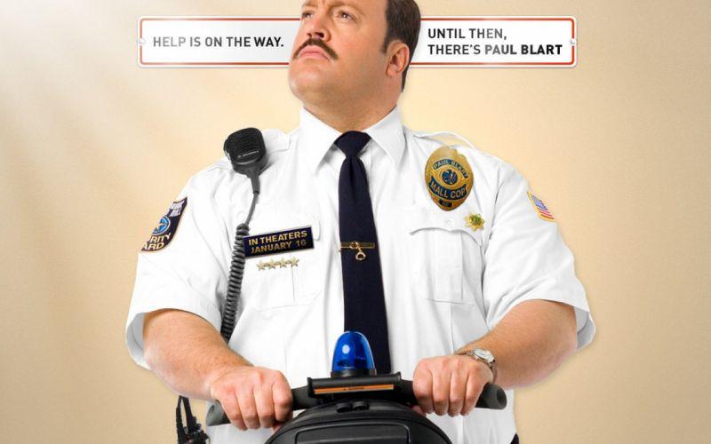 PAUL BLART Mall Cop 2 comedy kevin james himor funny 1pbmc crime action poster wallpaper