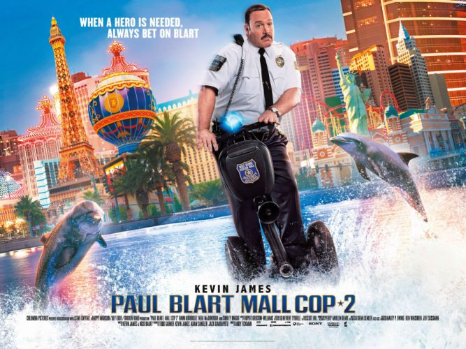 PAUL BLART Mall Cop 2 comedy kevin james himor funny 1pbmc crime action poster wallpaper