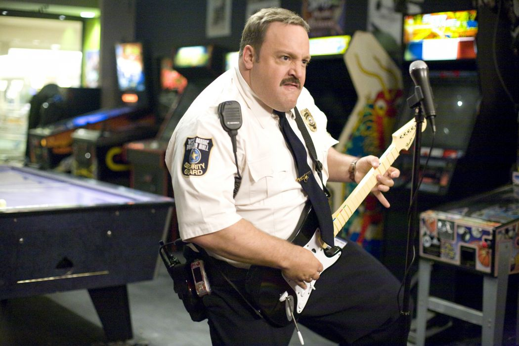 PAUL BLART Mall Cop 2 comedy kevin james himor funny 1pbmc crime action guitar wallpaper