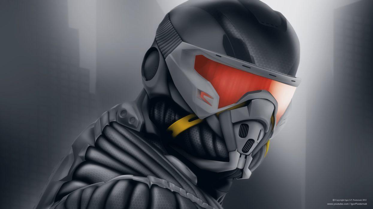 Crysis nomad free suit ddownload mac mindows desctop mask game  wallpaper