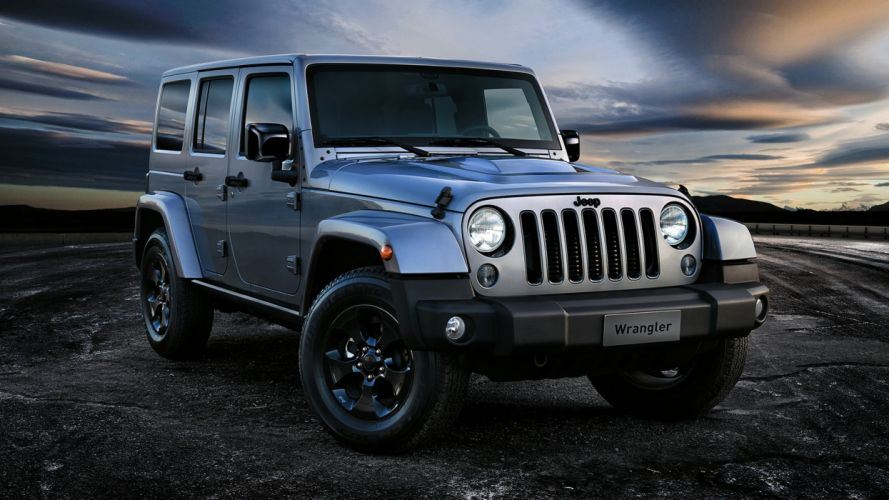 2015 Jeep Wrangler Unlimited Black Edition II gray silver landscape earth nature motors speed cars new wallpaper