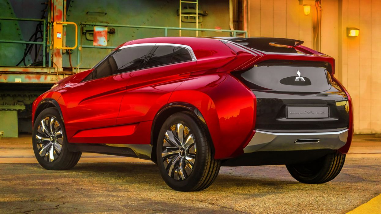 2013 Mitsubishi Concept XR-PHEV red cars motors speed SUV Factory wallpaper
