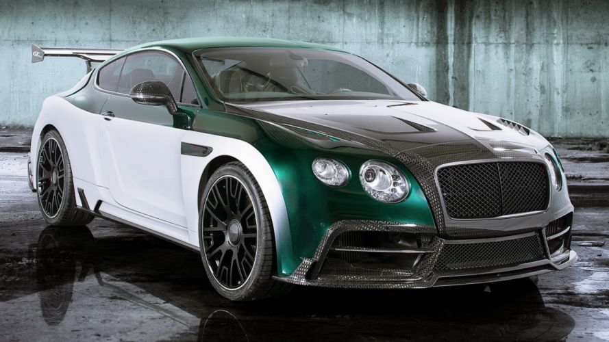 2015 Mansory Bentley Continental GT Race supercars cars motors speed wallpaper