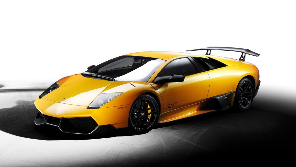 lamborghini coche amarillo italiano wallpaper