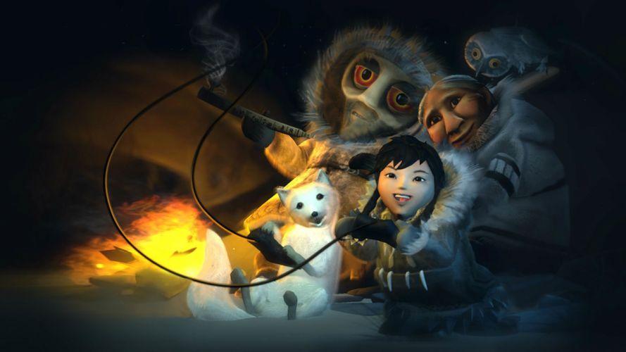 NEVER ALONE Kisima Innitchuna puzzle platform fantasy indian eskimo 1nalone adventure exploration alaska fox foxes wallpaper