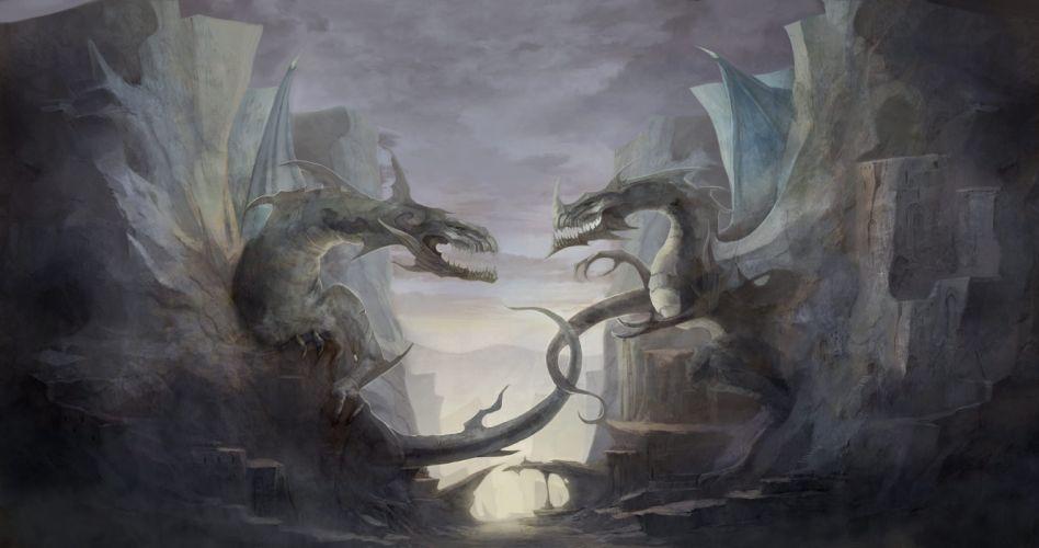 DRAGONA ONLINE fantasy mmo rpg action adventure fighting 1dragona artwork dragon wallpaper