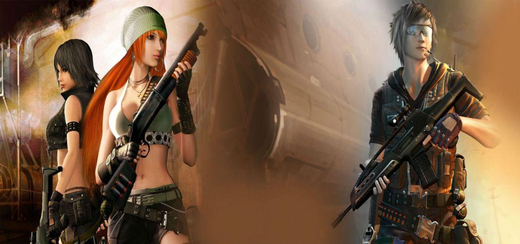 MISSION AGAINST TERROR mat action fighting 1mat adventure fps shooter online sci-fi warrior weapon gun poster wallpaper