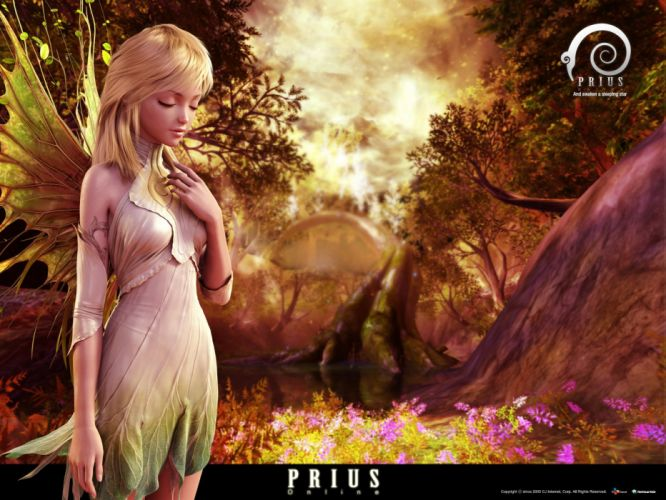 PRIUS ONLINE Arcane Saga fantasy mmo rpg action fighting adventure 1prius Dungeon anime fairy magic warrior wallpaper