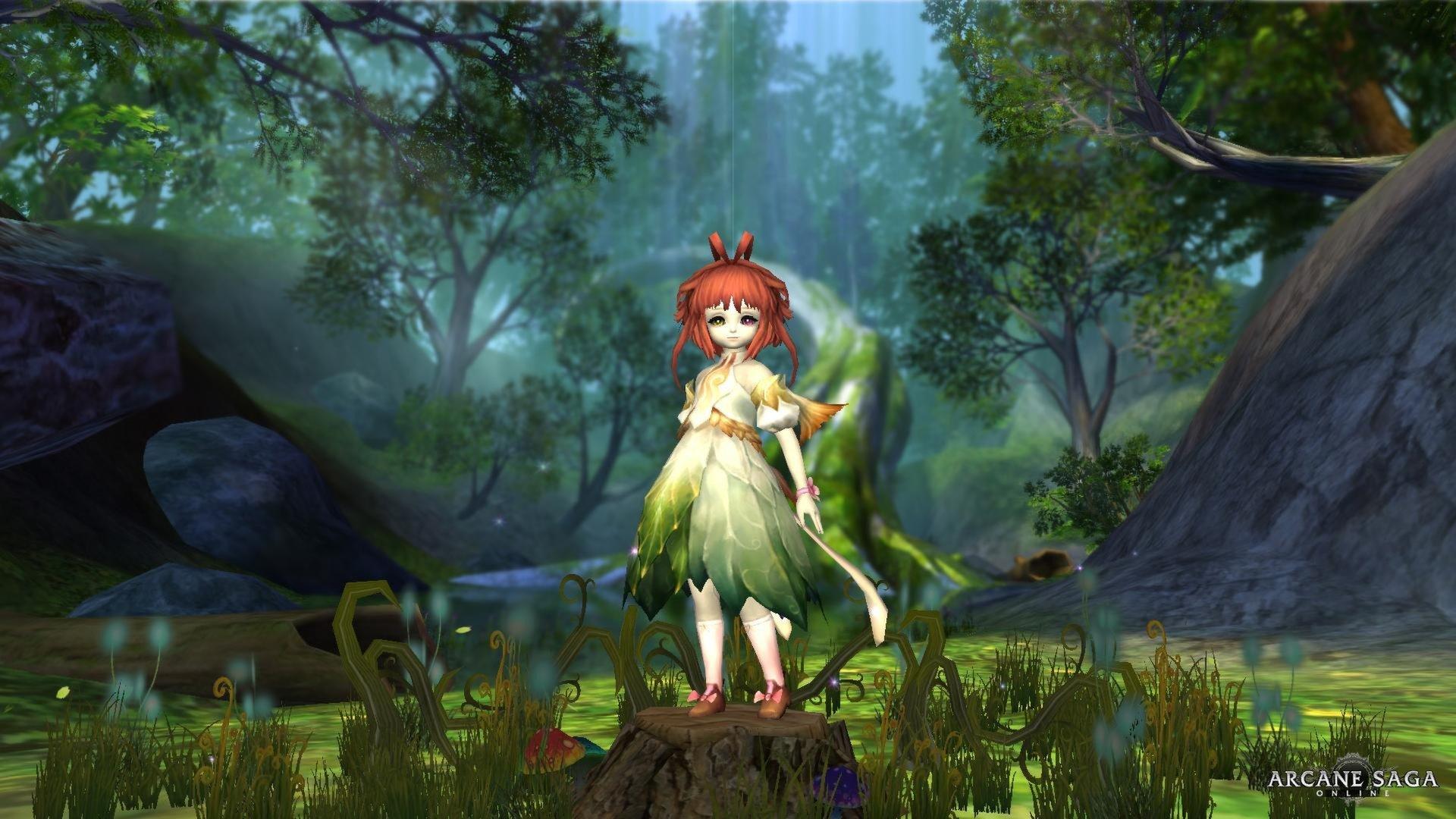 PRIUS ONLINE Arcane Saga Fantasy Mmo Rpg Action Fighting