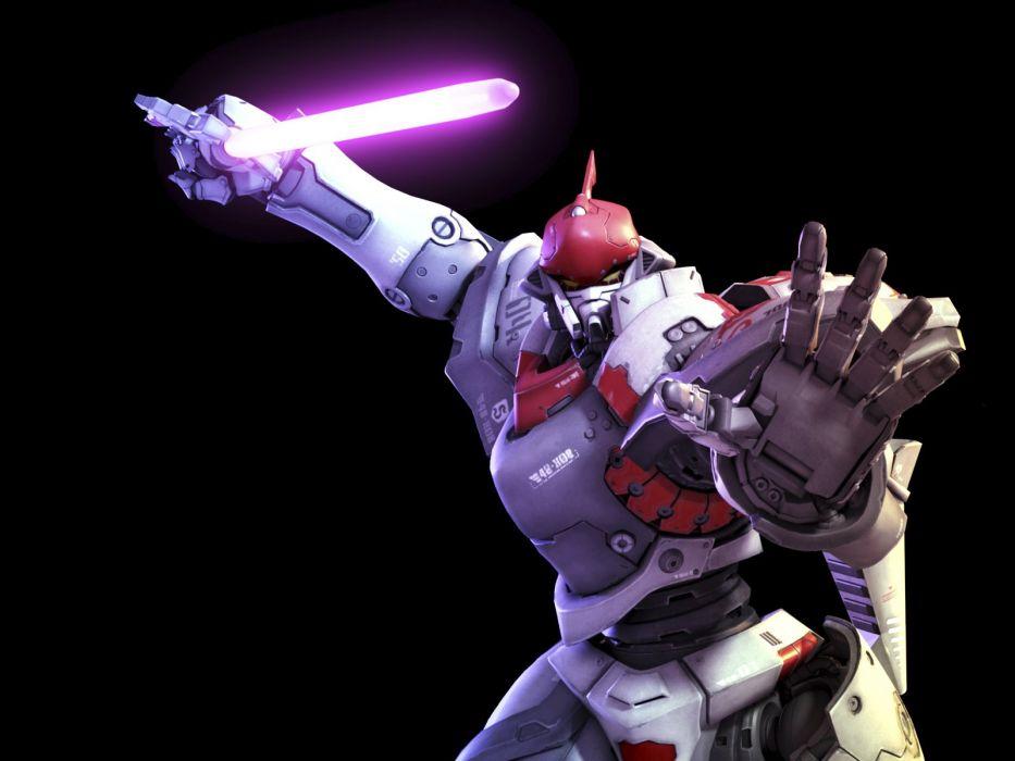 EXTEEL shooter tps sci-fi action fighting tactical startegy 1exteel futuristic online mmo warrior mecha robot wallpaper