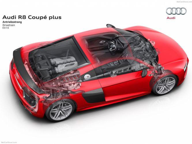 Audi R 8 V10 plus Technical coupe cars 2016 wallpaper