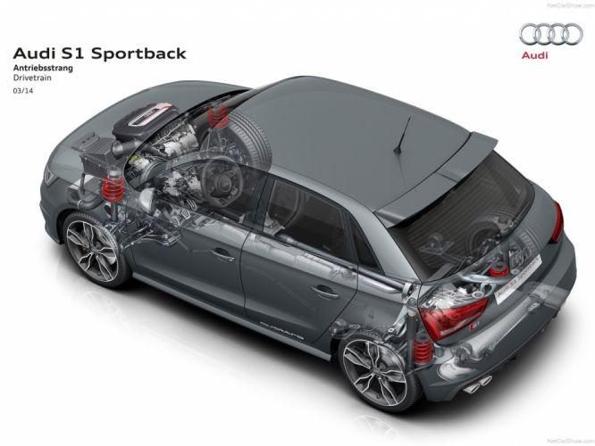 Audi S 1 Sportback Technical cars 2015 wallpaper