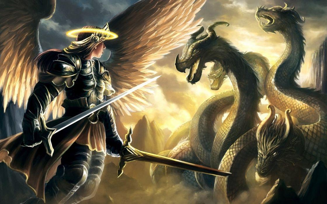 fantasy angel warrior artwork art wallpaper 1920x1200 649726