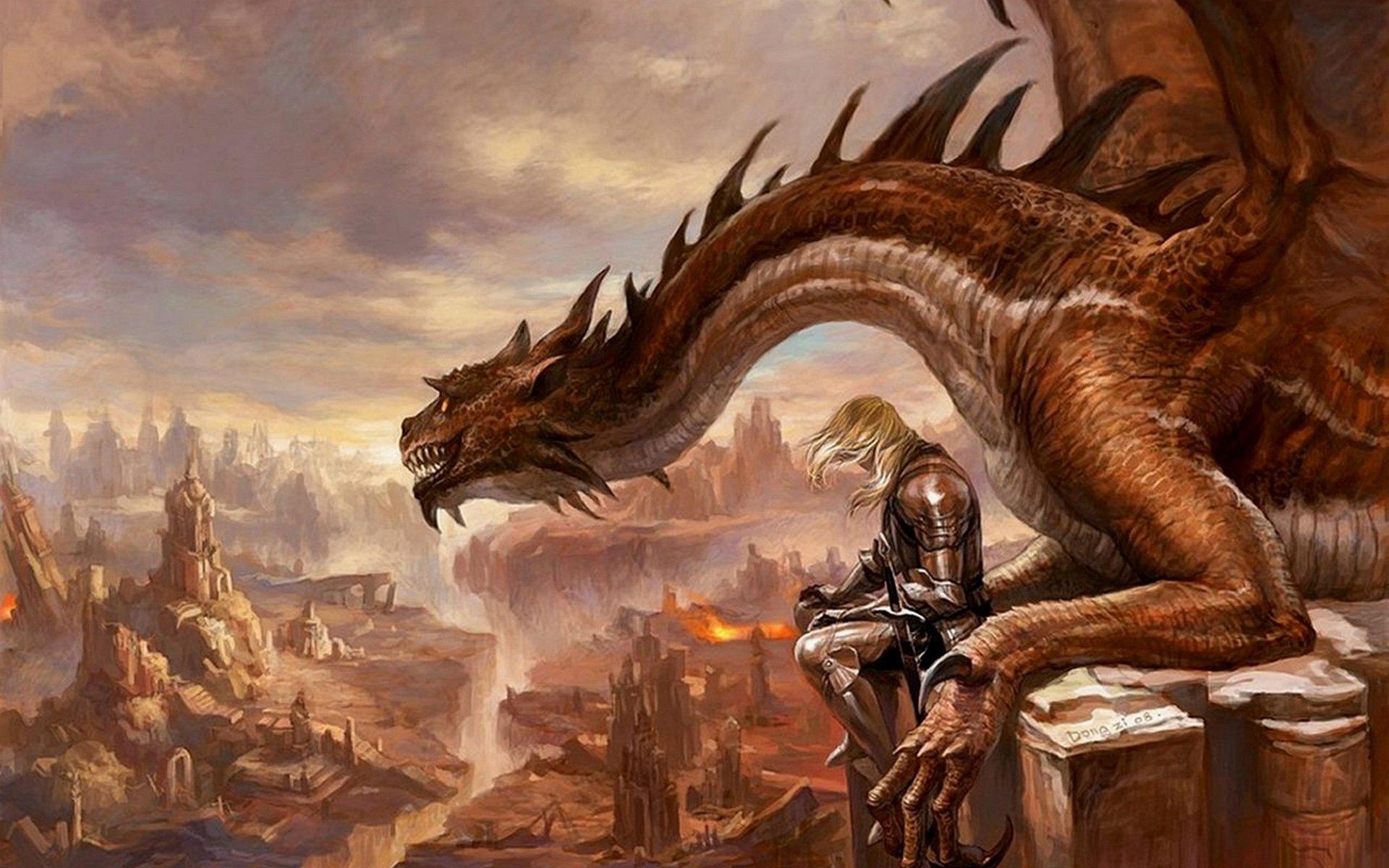 dragons fantasy wallpaper 1920x1200 - photo #15