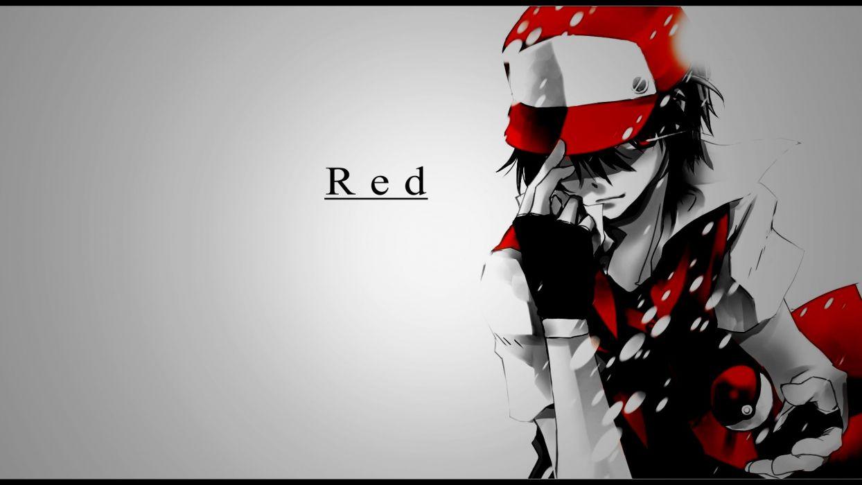 Pokemon Red PokeTrainer Entredador Videojuegos wallpaper